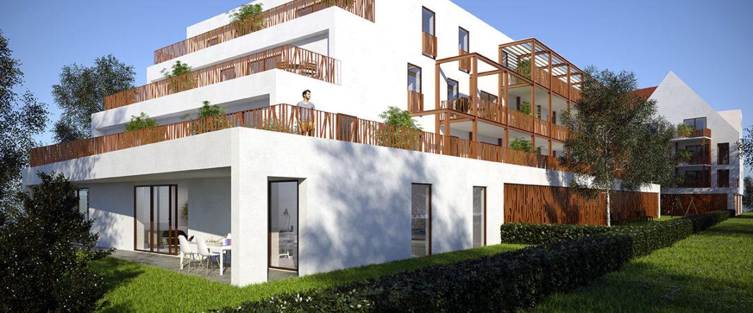 Programme immobilier neuf Strasbourg Robertsau
